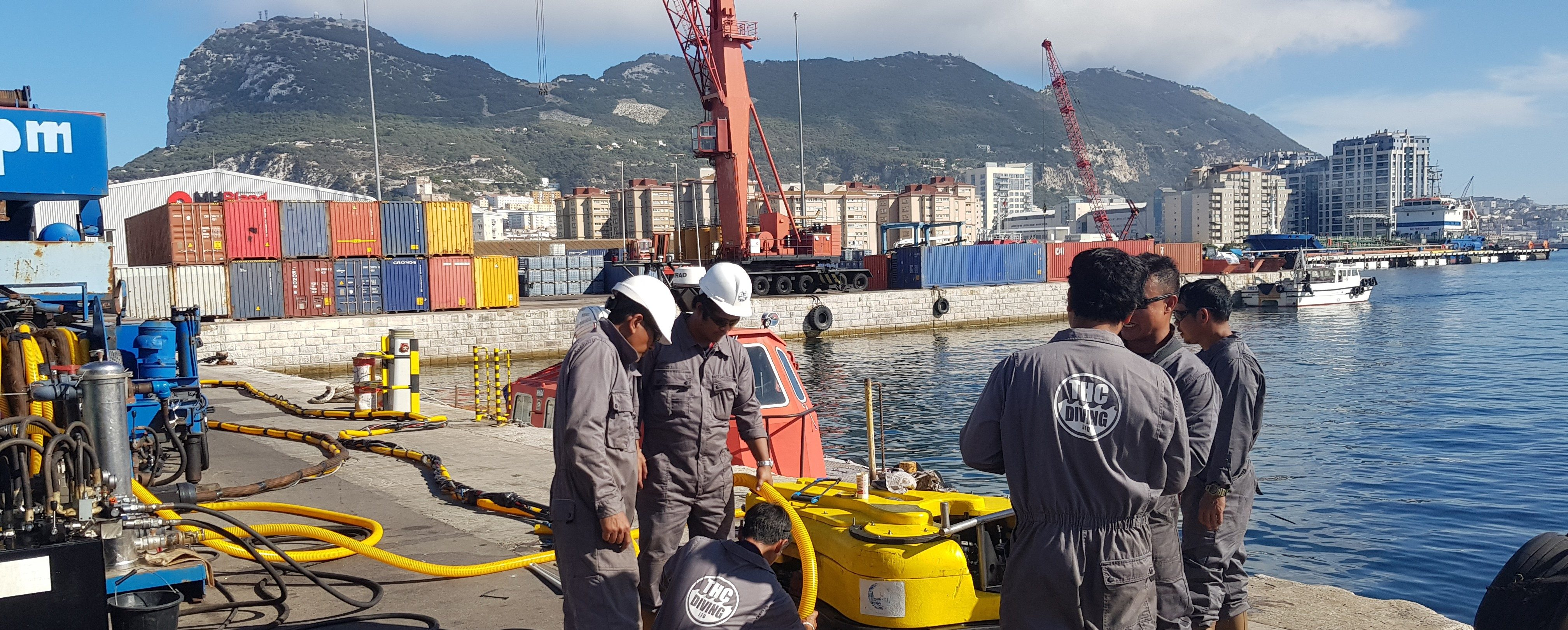 DIVE MARINE GROUP SERVICES ANNOUNCES EXPANSION TO GIBRALTAR