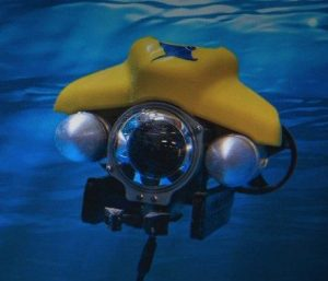 Underwater inspection ROV