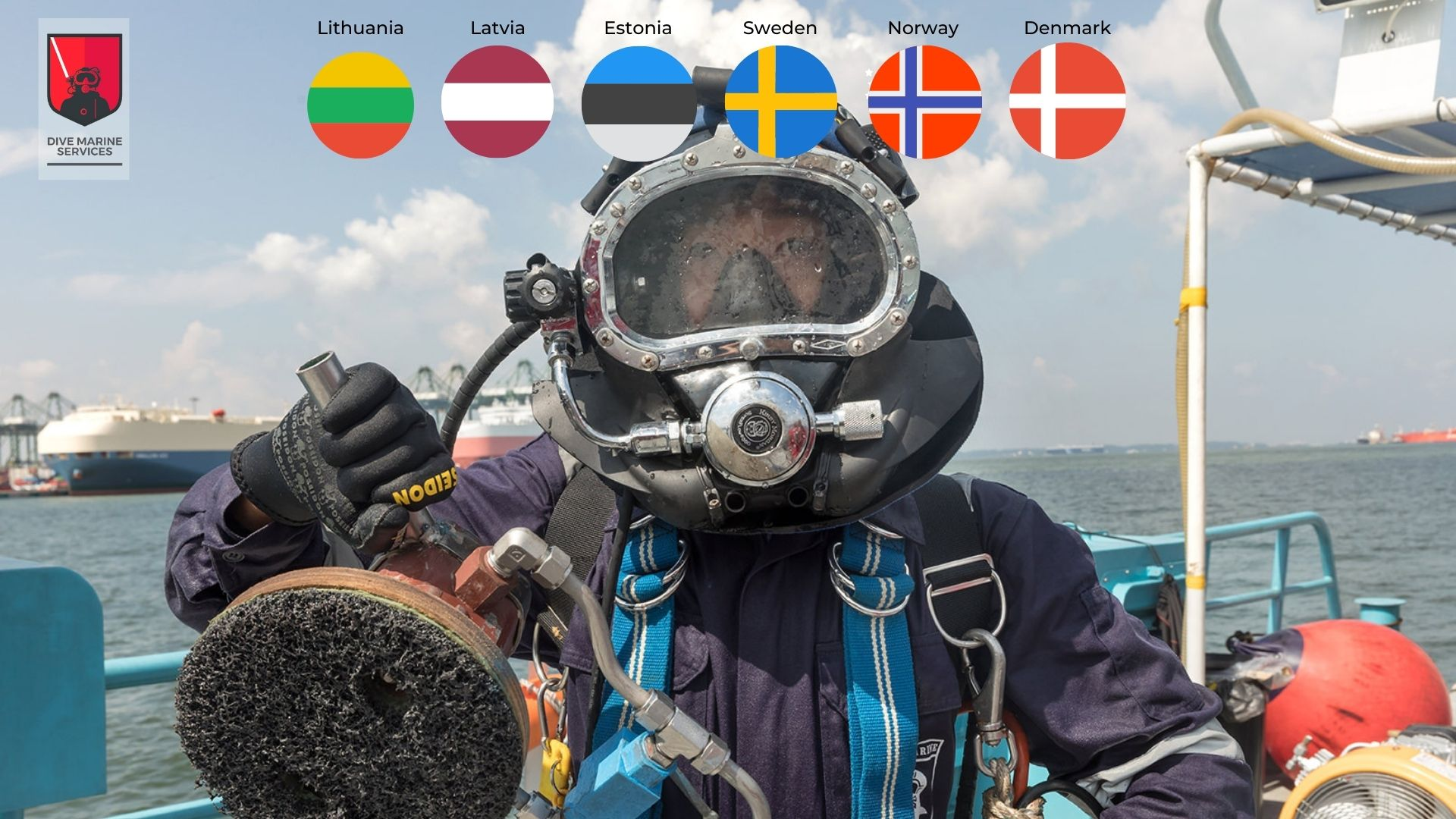 Dive Marine Services expands its network to Scandinavia and the Baltics