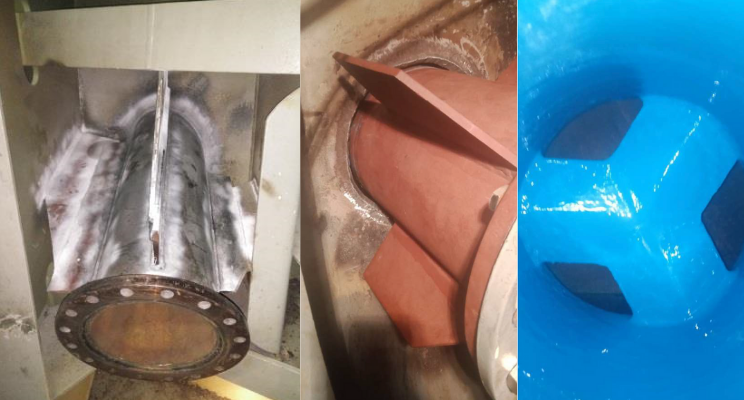 Repair and Renewal of Scrubber Overboard Pipes