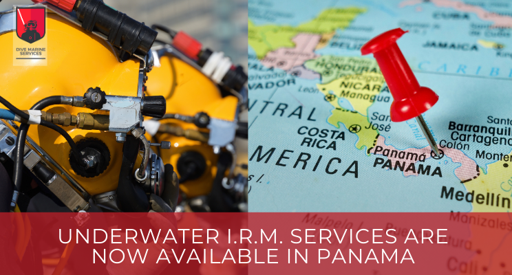 Underwater I.R.M. services are now available in Panama