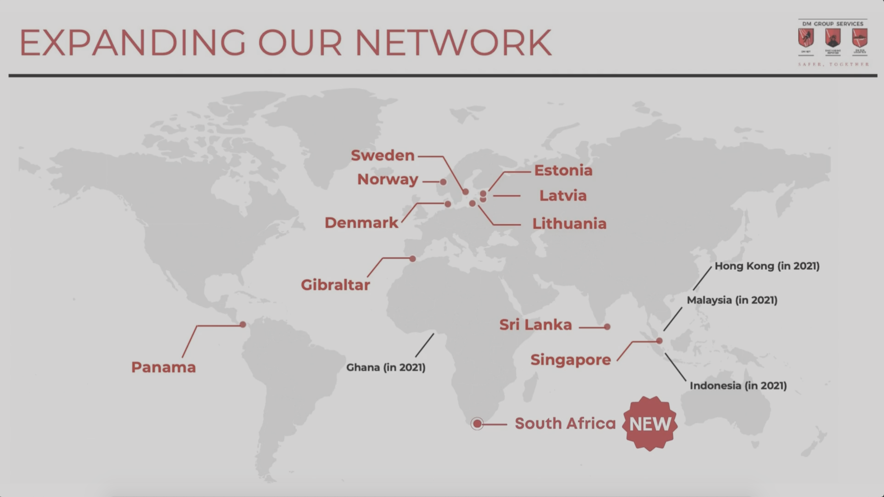 Dive Marine Services adds South Africa to its underwater I.R.M service network