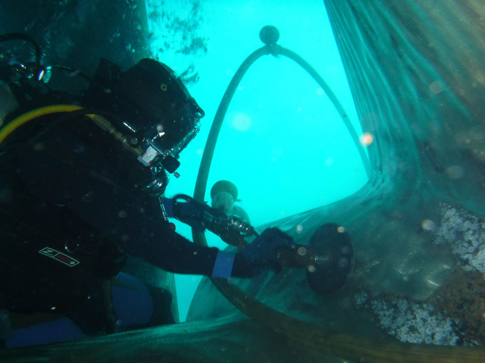Dive Marine Services now offers its underwater I.R.M services in the United Arab Emirates (UAE)